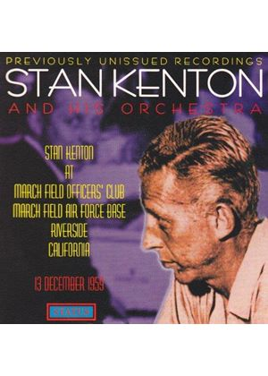 STAN KENTON & ORCHESTRA - AT MARCHFIELD AIRBASE 1959
