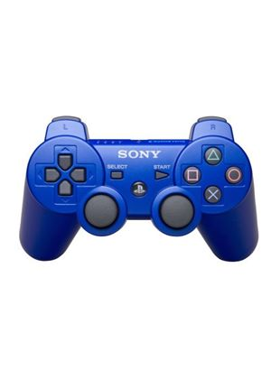 Sony Official Dualshock 3 Six Axis Controller Blue (PS3)