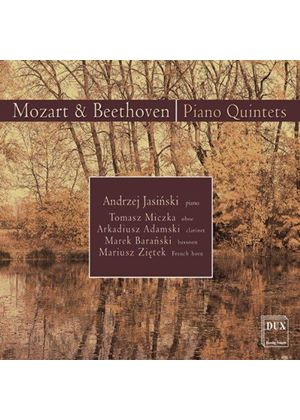 Beethoven; Mozart: Quintets for Piano and Wind