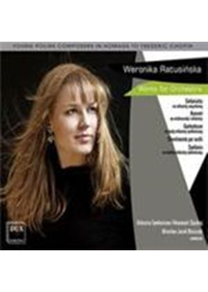Ratusinska - Orchestral Works (Music CD)