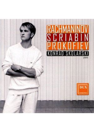 Rachmaninov, Scriabin, Prokofiev: Works for Piano (Music CD)
