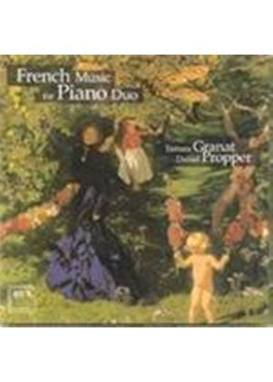 French Piano Duos (Music CD)
