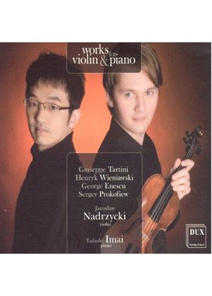 Works for Violin & Piano (Music CD)