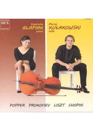 Works for Cello & Piano (Music CD)