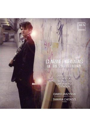 Clarinet Sonatas of the 20th Century (Music CD)