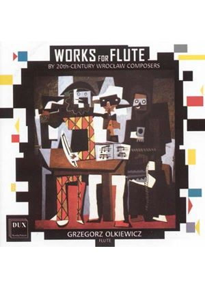 Works for Flute of the 20th Century (Music CD)