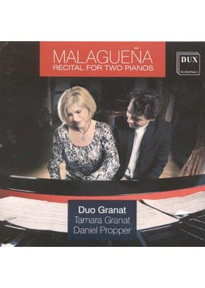 Malaguena: Recital for Two Pianos (Music CD)