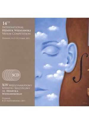 14th International Henryk Wieniawski Violin Competition (Music CD)
