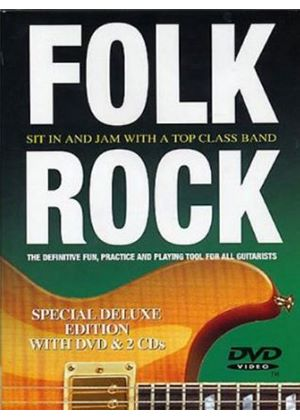 Folk Rock Guitar (DVD &  2 CD's)