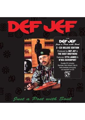 Def Jef - Just a Poet with Soul (Music CD)