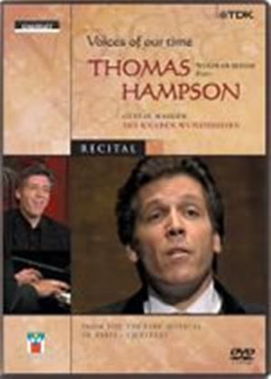 Voices Of Our Time - Thomas Hampson (Wide Screen)