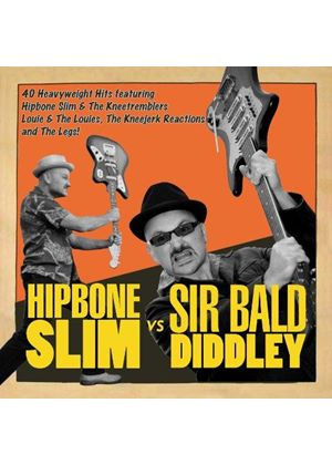 Hipbone Slim - Hipbone Slime vs. Sir Bald Diddley (Music CD)