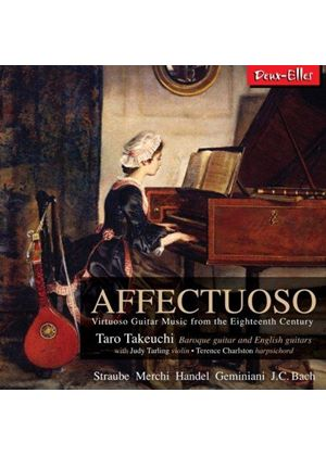Affectuoso: Virtuoso Guitar Music from the Eighteenth Century (Music CD)