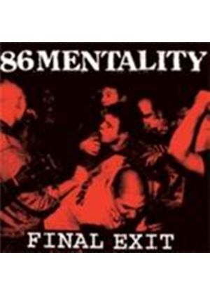 86 Mentality - Final Exit (Music CD)