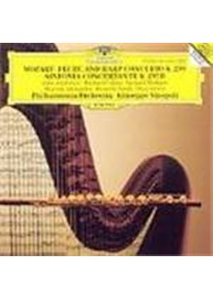 Mozart: Flute and Harp Concerto; Sinfonia Concertante