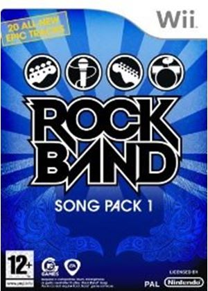Rock Band - Song Pack 1 (Wii)