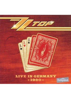 ZZ Top - Live in Germany 1980 (Live Recording) (Music CD)