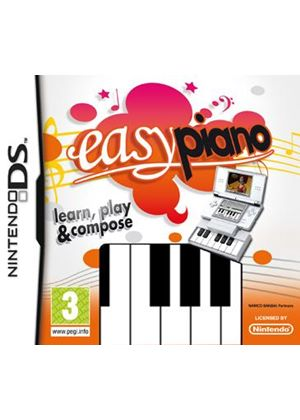 Easy Piano includes Actual Piano Interface!!! (Nintendo DS)