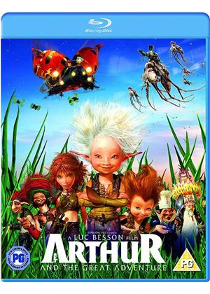 Arthur And The Great Adventure (Blu-Ray)