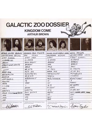 Kingdom Come - Galactic Zoo Dossier (Music CD)