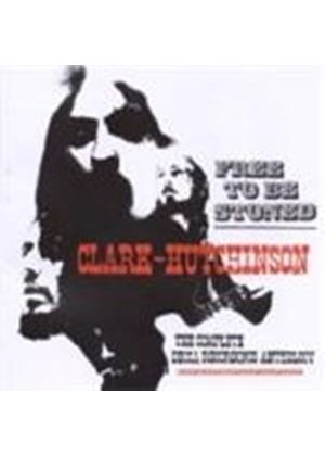 Clark Hutchinson - Free To Be Stoned (Music CD)