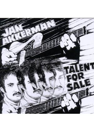 Jan Akkerman - Talent for Sale (Music CD)