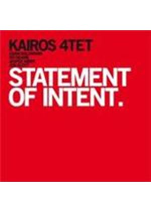 Kairos 4tet - Statement Of Intent (Music CD)