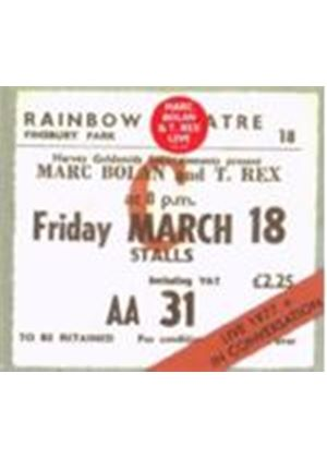 Marc Bolan And T.Rex - Live 1977 And In Conversation (Music CD)