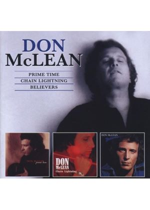 Don McLean - Prime Time/Chain Lightning/Believers (Music CD)