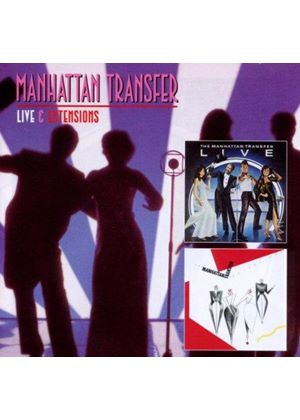 Manhattan Transfer (The) - Live/Extensions (Music CD)