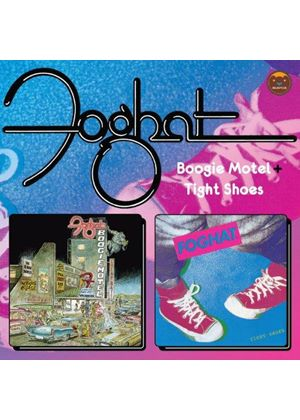 Foghat - Boogie Motel/Tight Shoes (Music CD)