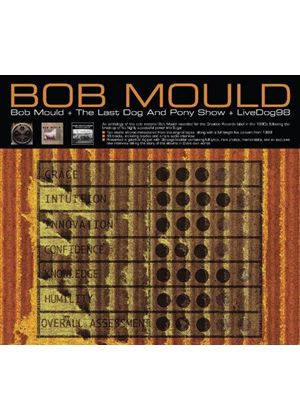 Bob Mould - Bob Mould (Hubcap)/The Last Dog and Pony Show/LiveDog98 (Music CD)