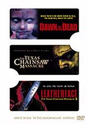 Dawn Of The Dead / Texas Chainsaw Massacre / Leatherface (Three Discs)