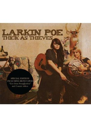 Larkin Poe - Thick as Thieves (+DVD)