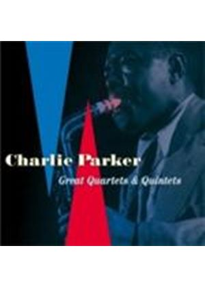 Charlie Parker - Great Quartets And Quintets (Music CD)