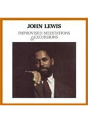 John Lewis - Improvised Meditations And Excursions (Music CD)