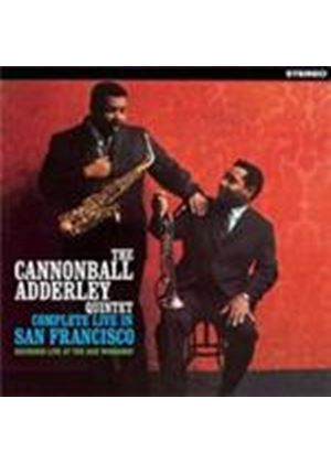 Cannonball Adderley Quintet (The) - Complete Live In San Fancisco (Music CD)