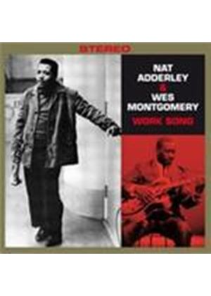 Nat Adderley/Wes Montgomery - Work Song/Movin' Along (Music CD)