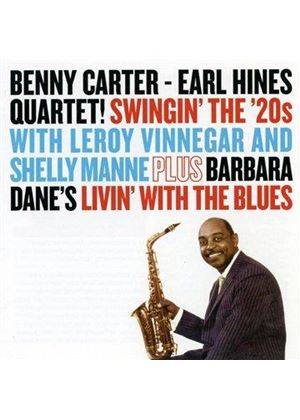 Benny Carter - Swingin' the 20s/Livin' with the Blues (Music CD)