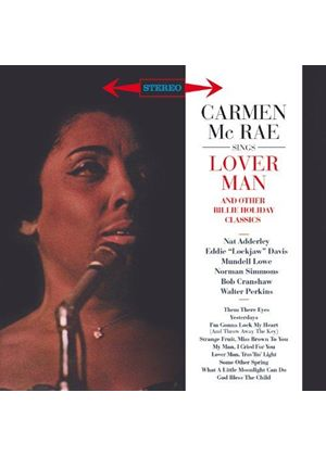 Carmen McRae - Sings Lover Man and Other Billie Holiday Classics (Music CD)