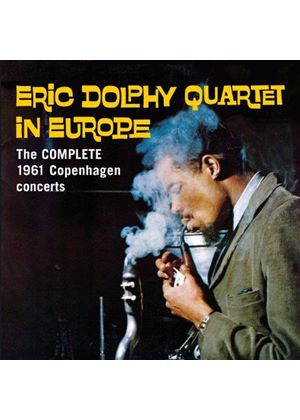 Eric Dolphy - In Europe (The Complete 1961 Copenhagen Concerts/Live Recording) (Music CD)