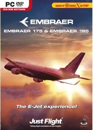 Embraer E-Jets 175/195 (PC DVD)