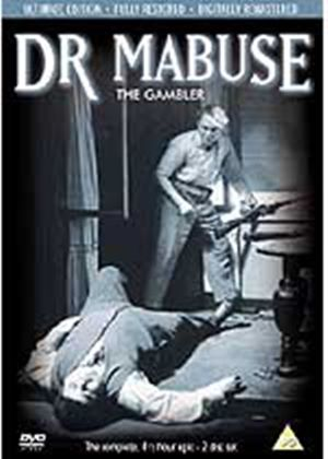 Doctor Mabuse - The Gambler (Subtitled) (Ultimate Edition) (Two Discs)
