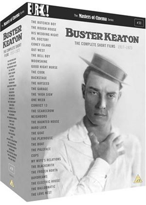 The Complete Buster Keaton Short Films (Four Disc Boxset) (Masters of Cinema)