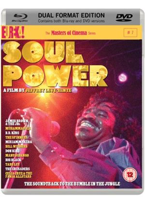 Soul Power (Masters Of Cinema) (Blu-Ray + DVD)