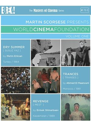 Martin Scorsese Presents:World Cinema Foundation: Volume One (Masters of Cinema) (Blu-ray + DVD Dual Format)