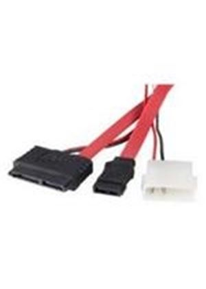 StarTech SATA adapter cable - micro SATA (f) - SATA (f) - LP4 - serial ATA