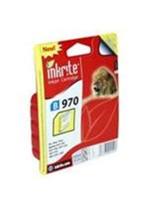 Inkrite Printer Ink for Brother DCP135 DCP150c DCP153c MFC235c MFC260c - LC 37 LC970 Yellow (Lion)