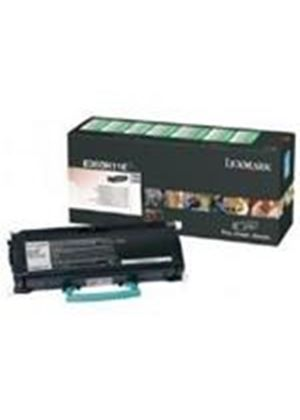 Lexmark Black High Yield Return Program Toner Cartridge (Yield 9,000 Pages) for E360/E460 Mono Laser printers