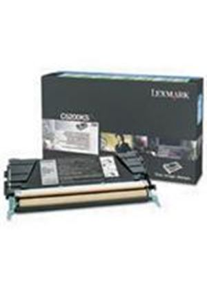 Lexmark Black Return Programme Toner Cartridge (Yield 1,500 pages) for C520/C530 Colour Laser Printers